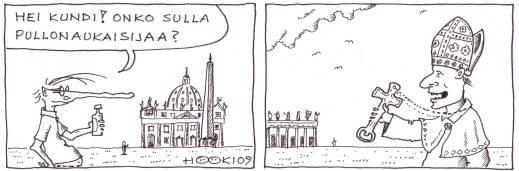 pitkänokka ja paavi