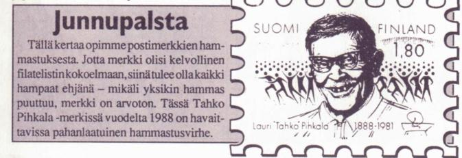 Postimerkit_Tahko Pihkala
